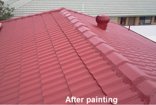 roof restoration colour tips
