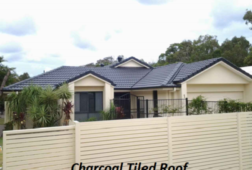 charcoal tiled roof